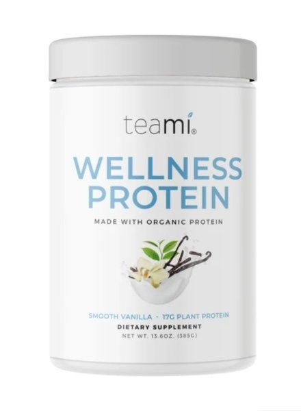 teami Teami - Organic Plant Based Wellness Protein - Vanilla