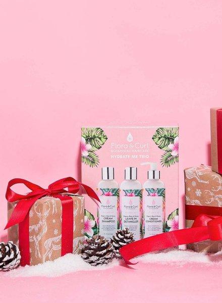 Flora & Curl Flora & Curl - Hydrate Me Trio Gift Set