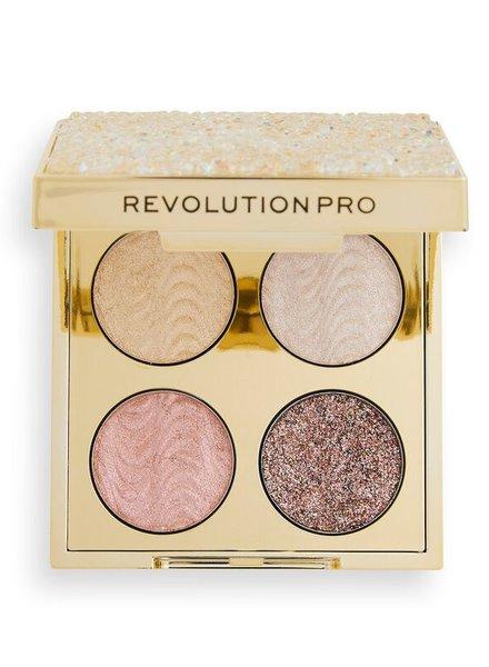 Makeup Revolution Revolution Pro - Quad Champagne Crystal