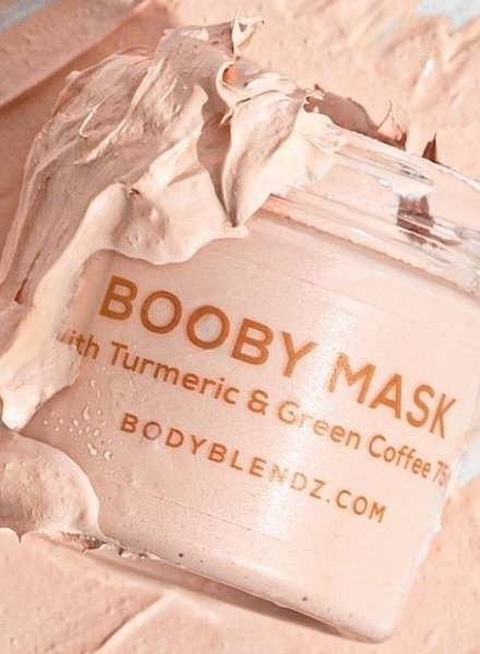 Bodyblendz Booby white Clay Mask