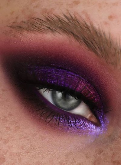 Karla Cosmetics Multichrome Loose Eyeshadows - Night Terror