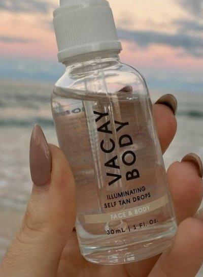 VACAY BODY Face & Body Self Tanning Drops