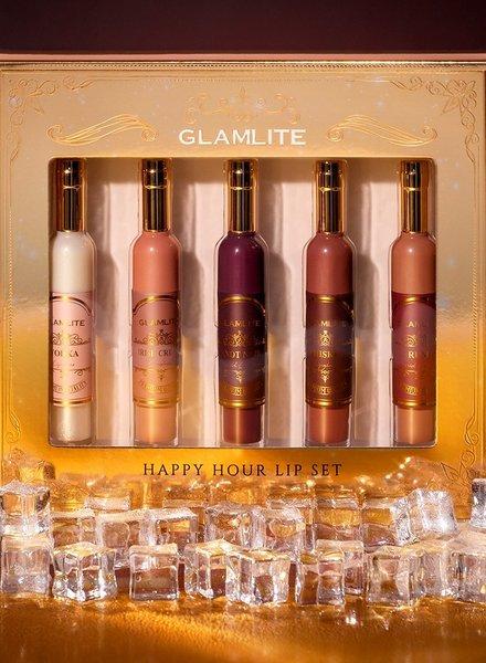Glamlite Glamlite - HAPPY HOUR Lip Set