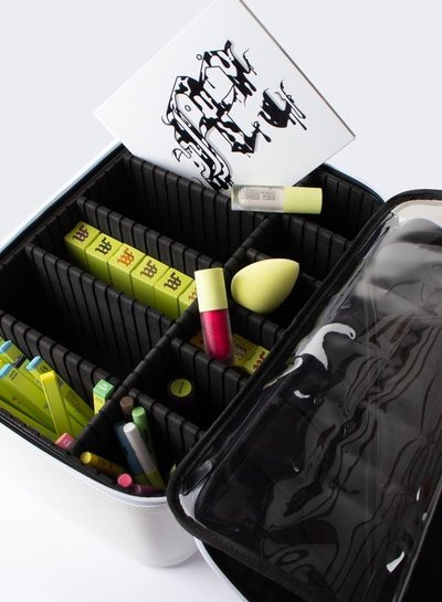 Made by Mitchell Milk LIMITED EDT. Make Up Organiser