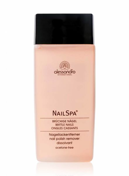 Alessandro Alessandro international Nail Spa Nagellackentferner brüchige Nägel 135ml