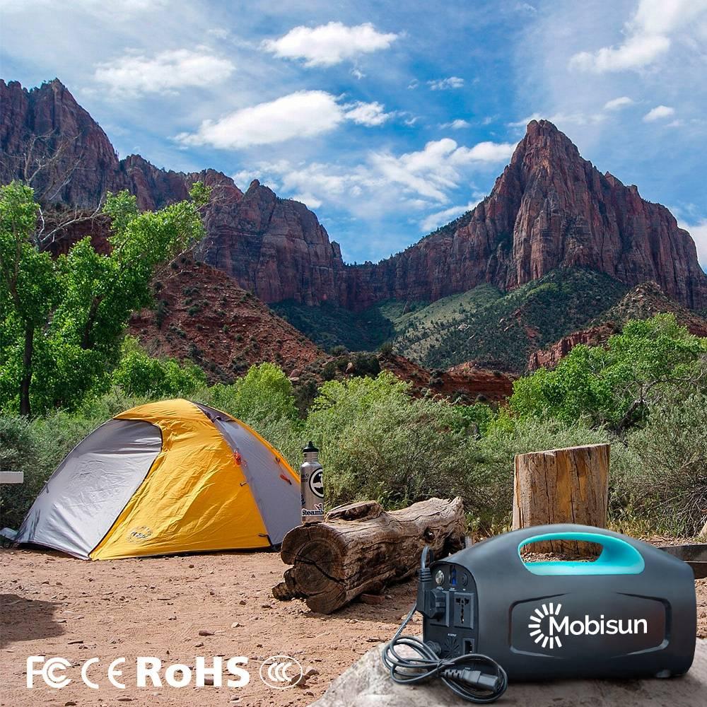 Mobisun Portable Solar Generator 230V / 500W / 666Wh   Mobisun