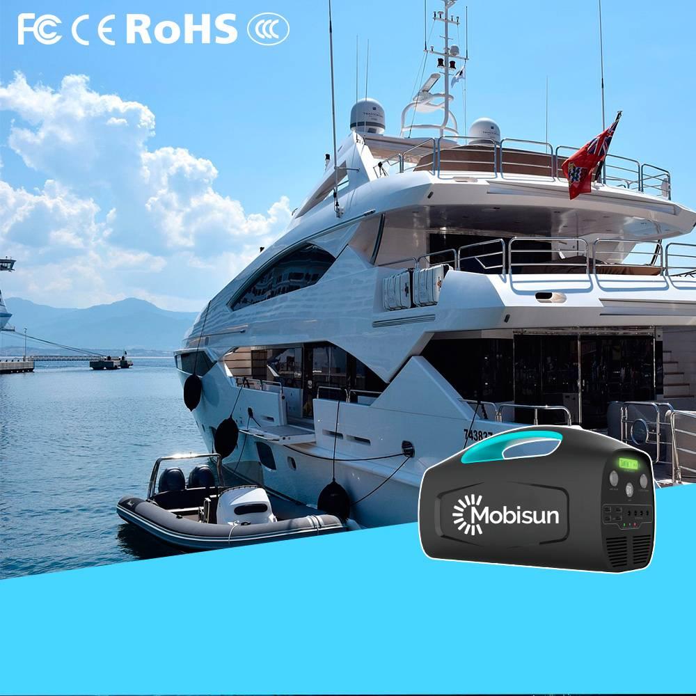 Mobisun Portable Solar Generator 230V / 500W / 666Wh  | Mobisun