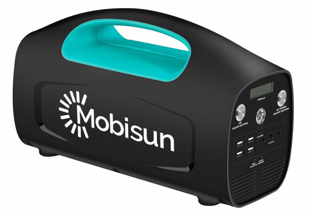 Mobisun Tragbarer Solargenerator 230V / 500W / 666Wh | Mobisun