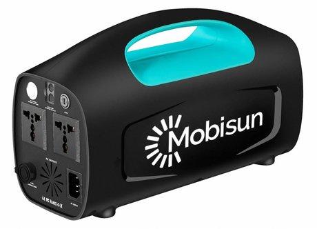 Mobisun Portable Solar Generator/Accu | Draagbaar stopcontact 230V / 500W / 666Wh | Mobisun