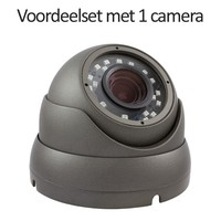5.0 MegaPixel set met recorder en 1x CHD-5MD1-G IP camera