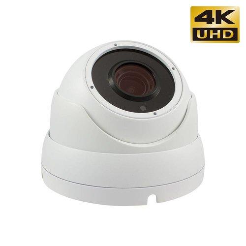 8.0 MegaPixel IP camera's