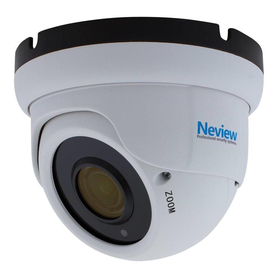 CHD-D1-W - 1080p IP camera met PoE - Wit