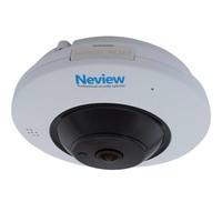 CHD-FE2 - Fisheye IP camera met PoE, Wifi, Audio