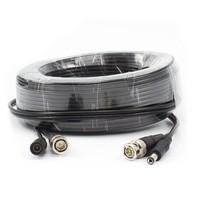 CS-K18 - 18 meter RG59 combikabel voor CS camera's en recorders (HD-SDI geschikt)