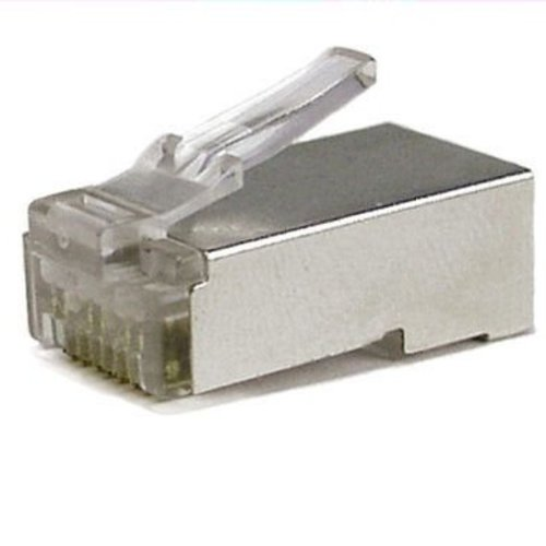 RJ45 krimp connector voor UTP kabel - Shielded