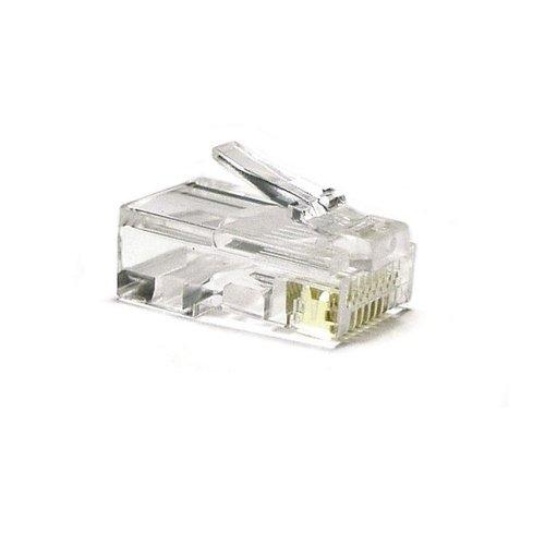 RJ45 krimp connector voor SFTP kabel - 10 stuks