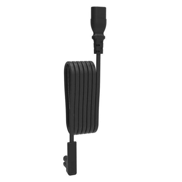 Flexson 3 meter verlengkabel voor Sonos One/PLAY: 1 zwart