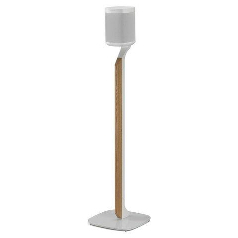 Premium Vloerstandaard Wit Eiken voor SONOS ONE/ Play:1