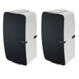 Flexson Muursteun Wit voor Sonos PLAY:5  Verticaal Set van 2