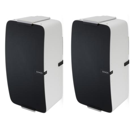 Muursteun Wit voor Sonos PLAY:5  Verticaal Set van 2