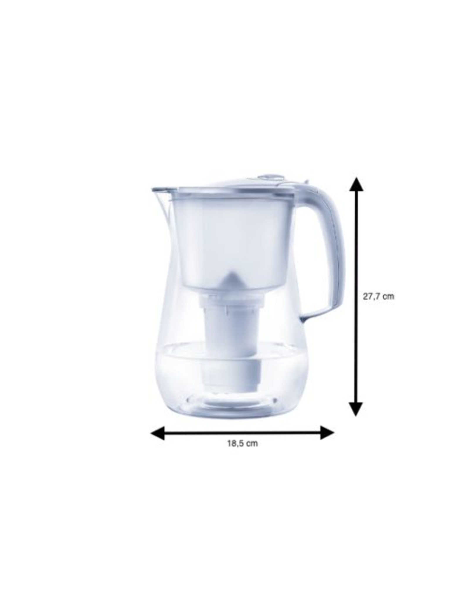 Flow Two Filterkanne / 4.2 L / 2-4 Personen Haushalt