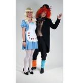 Alice in Wonderland & Mad Hatter kostuum huren - 140n