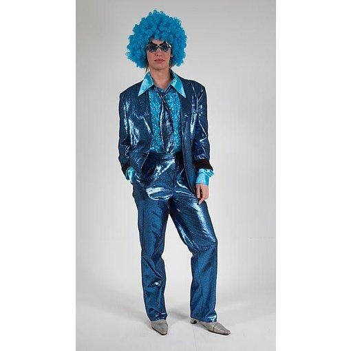 Blauw glitterpak