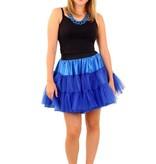 koop Petticoat blauw 3-laags