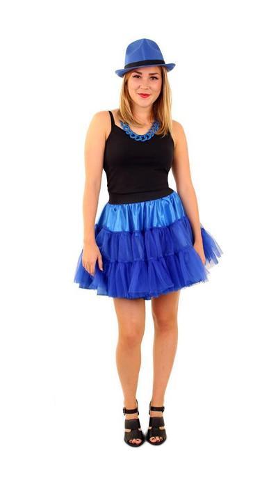 Petticoat blauw - kopen
