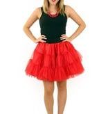 koop Petticoat rood 3-laags