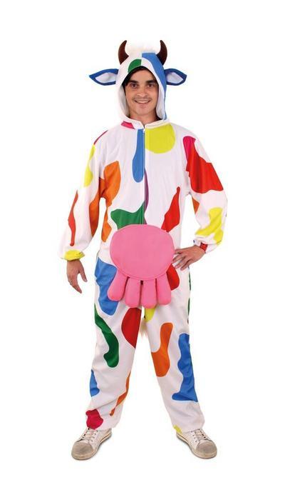 koop Gekleurde Carnavals koe