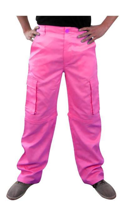 Roze stoere broek