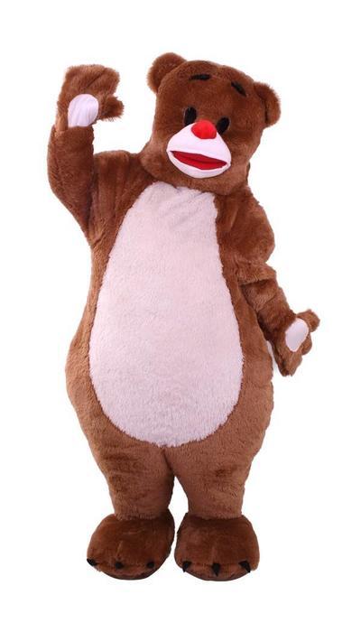 Dikke beer kostuum