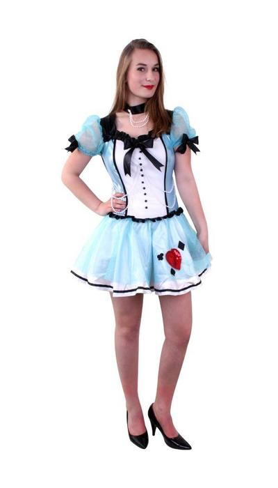 partyxplosion Wonderfull Alice kostuum