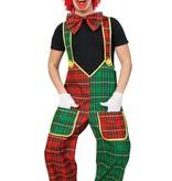 partyxplosion Tuinbroek clown