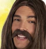 koop Hippie snor bruin
