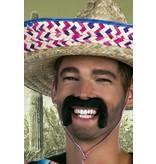 koop Mexicaans snor zwart