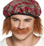 koop Schotse snor rood