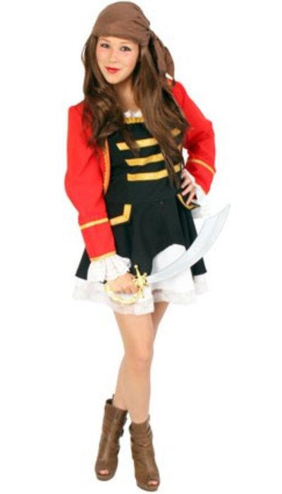 partyxplosion Piraten jurkje verkoop