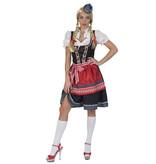 koop Tirol blauw/rood jurkje verkoop