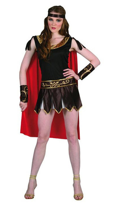 Witbaard Romeinse dames outfit kopen