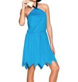 Witbaard Betty van de Flinstones kostuum