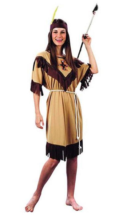 Witbaard Indianen jurkje kopen voor carnaval