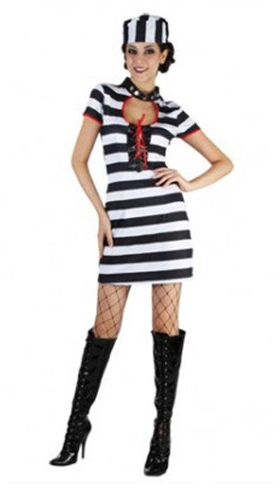 koop Gevangenis kostuum voor dame kopen