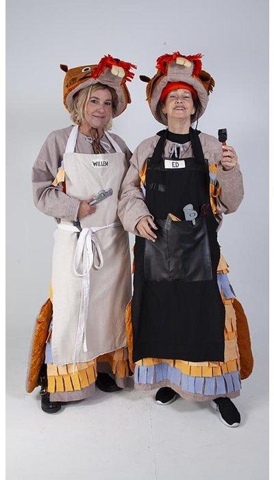 Ed en Willem Bever kostuum huren