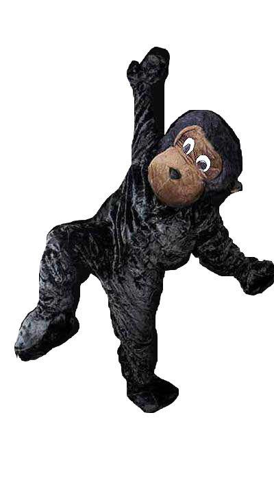 Mascotte aap kostuum huren