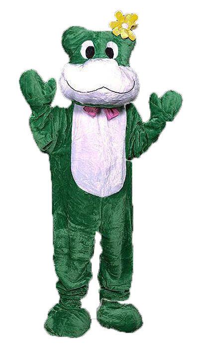 Mascotte  kikker kostuum huren  - 101
