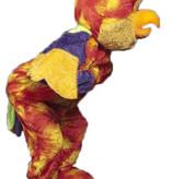 Papegaai mascotte kostuum huren