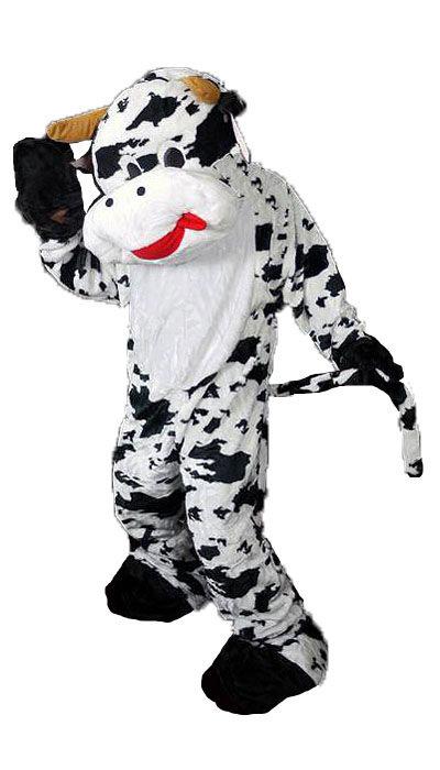 Mascotte koeien kostuum huren