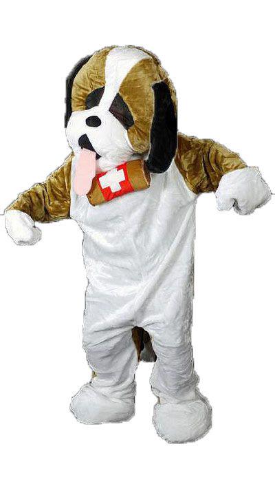 St. Bernard honden kostuum - 113